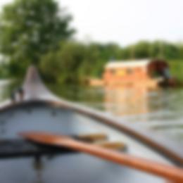 Mit dem Kanu und dem Hausboot unterwegs auf der Peene
