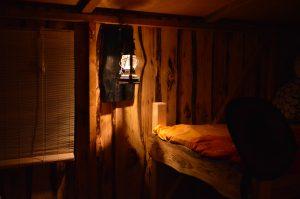 Die Stimmung im Innenraum des Driftholt 2 ist vor allem im dunklen sehr gemütlich.