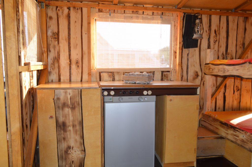 Innenraum des Hausboots - Driftholt II - Die Küche