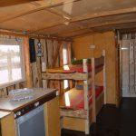 Innenraum des Hausboots - Driftholt II - Gesamtansicht