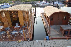 Unsere Hausboote - Driftholt I und Driftholt II - auf dem Amazonas des Nordens