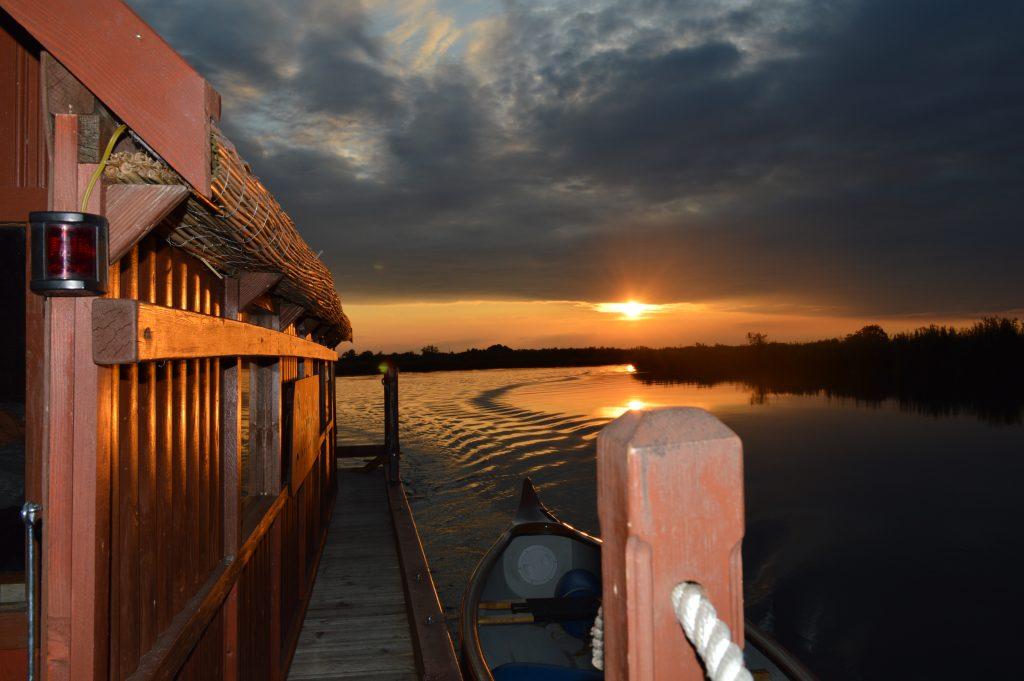 Der Amazonas des Nordens im Herbst