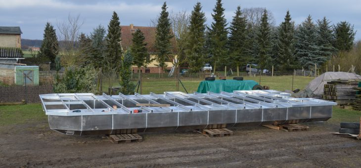 Baufortschritt Driftholt II – Das Grundgerüst ist fertig