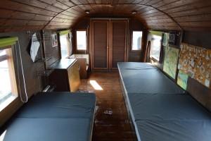 Das Hausboot von Innen