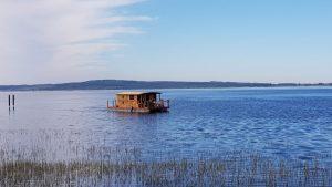Das Driftholt II auf dem Kummerower See vor Gravelotte!