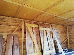 Das Driftholt 3 - Innenansicht, Türen im unverbautem Zustand