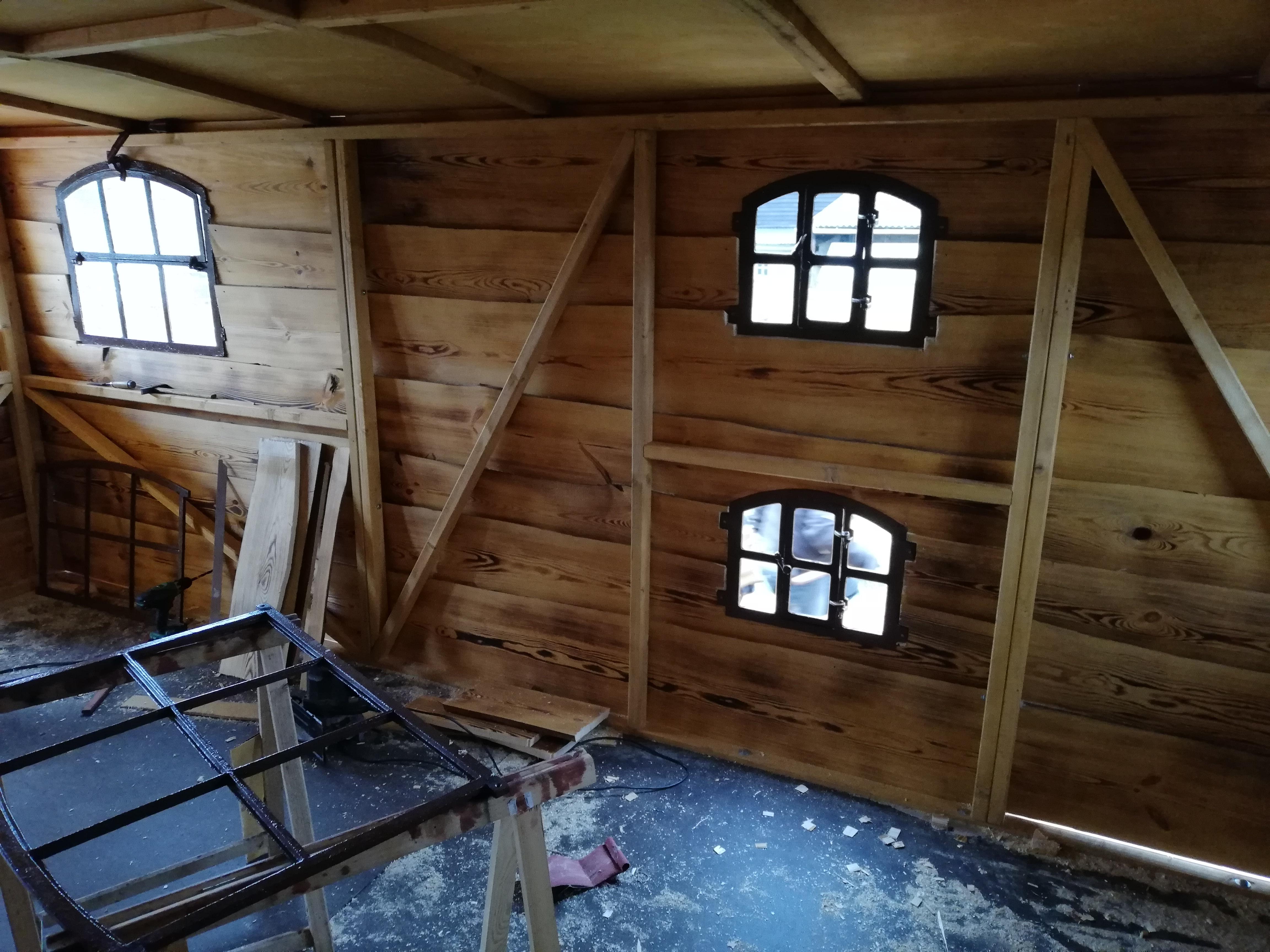 Das Driftholt 3 - Innenansicht der neuen Fenster