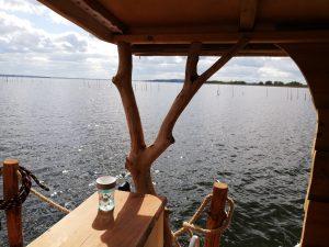 Mit dem Driftholt 3 das erste Mal auf dem Kummerower See