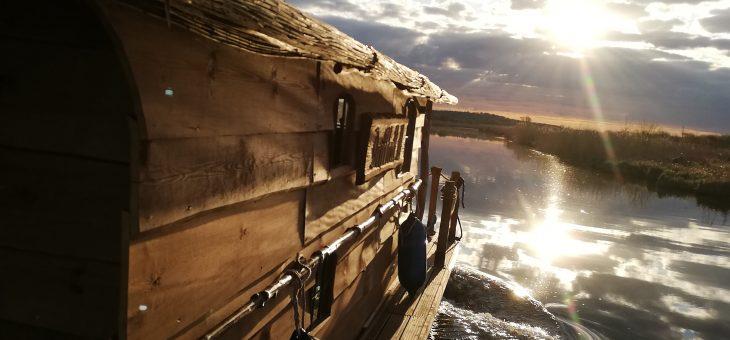 Das Driftholt 3 ist in See gestochen.
