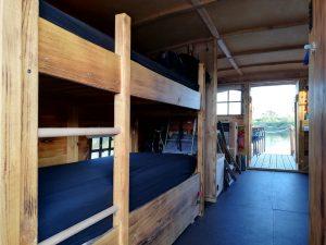 Das Driftholt 3 von Innen