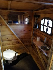 Die Ausstattung im Bad des Driftholt 3